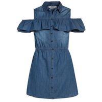 Abercrombie & Fitch Sukienka jeansowa medium wash, KI259-7206-418625