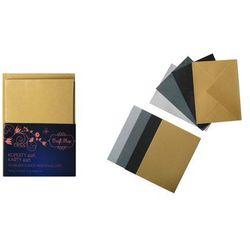 Zestaw kopert z kartami 4 sztuki scrapbooking sprawdź szczegóły w Matras.pl