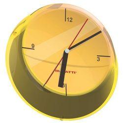 - glamour zegar ścienny, żółty marki Bugatti