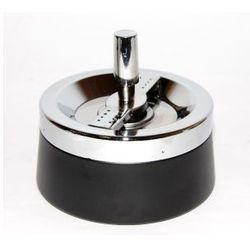 Popielniczka metal stożek czarna 0211301 od producenta Inny