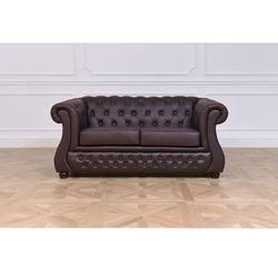 Sofa 2-osobowa chester lux marki Bemondi