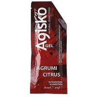 Agisko  energy gel (citrus) - żel enegretyczny 37 ml