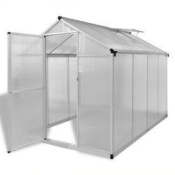 vidaXL Szklarnia ogrodowa ze wzmacnianą aluminium ramą 4,6 m2 (8718475905981)