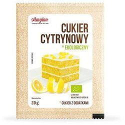 Amylon: cukier cytrynowy BIO - 20 g, kup u jednego z partnerów
