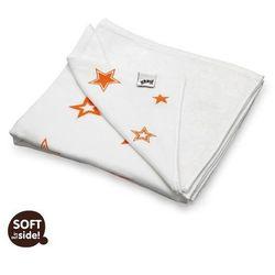 Bambusowa kołdra dziecięca 130x70 XKKO Orange Stars - Orange Stars