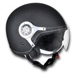 Kask na skuter XL, czarny - sprawdź w VidaXL