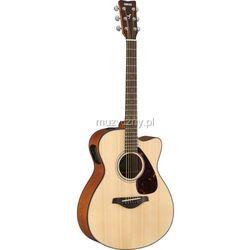 fsx 800 c nt gitara elektroakustyczna, solid top, cutaway, natural wyprodukowany przez Yamaha