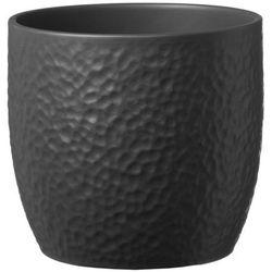 Sk soendgen keramik Osłonka doniczki boston śr. 19 cm antracyt