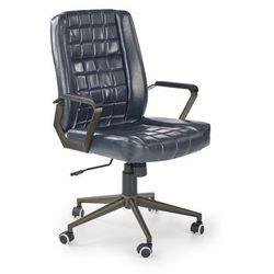 WINDSOR fotel gabinetowy granatowy, H_2010001154365
