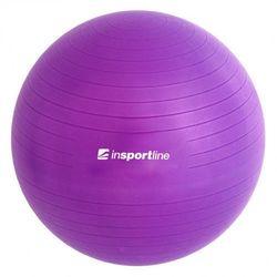 Insportline Piłka gimnastyczna  top ball 65 cm - kolor fioletowy, kategoria: piłki i skakanki