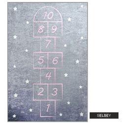 Selsey dywan do pokoju dziecięcego dinkley klasy szary 100x160 cm