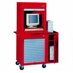 Zestaw komputerowy midi (szafka, nadstawka, szafka boczna) p-1-07-06 marki Fastservice