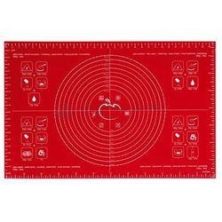 Stolnica mata silikonowa 40 x 60 cm czerwona Mastrad, LEN_MA-F45210