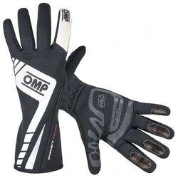 Rękawice OMP First Evo - Czarno / Biały