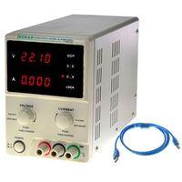 Zasilacz laboratoryjny  kd3003p 30v 3a komunikacja z pc marki Korad