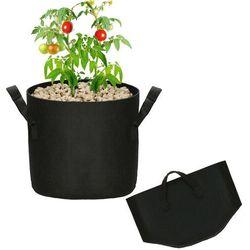 Doniczka materiałowa 26l growbag donica ekologiczna, oddychająca czarna