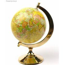 Piękny dekoracyjny Globus złoty