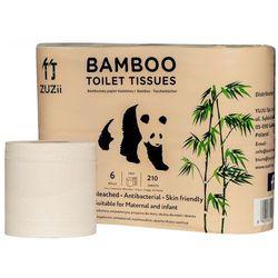 Zuzii Papier toaletowy bambusowy 6szt. - (5901122274056)