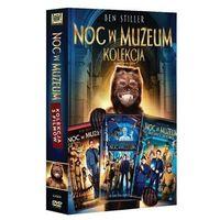 Pakiet: Noc w muzeum. Kolekcja [3DVD] - Shawn Levy