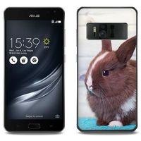 Foto Case - Asus Zenfone AR - etui na telefon Foto Case - brązowy królik, kolor brązowy
