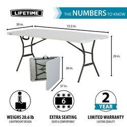 Stół kateringowy 180 cm składany marki Lifetime