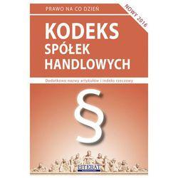 Kodeks spółek handlowych St.pr. 06.06.2016 + zakładka do książki GRATIS, pozycja wydawnicza