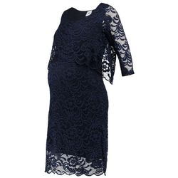 MAMALICIOUS MLMIVANE JUNE Sukienka letnia navy blazer z kategorii Sukienki ciążowe