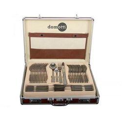 DOMOTTI Komplet sztućców 72-elementowy Ewa w aluminiowej walizce 69804