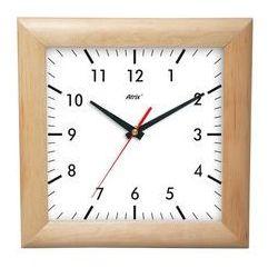 Zegar drewniany kwadrat #a marki Atrix