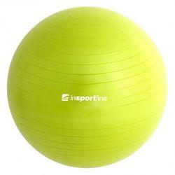 Piłka gimnastyczna inSPORTline Top Ball 55 cm - Kolor Zielony (8595153697372)