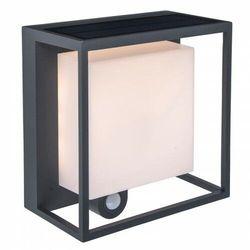 CURTIS LED 3W Bateria solarna Czujnik ruchu PIR IP54 3000K Kinkiet zewnętrzny Lutec 6934601118 (6939412010052)