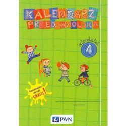 Wydawnictwo szkolne pwn Kalendarz przedszkolaka czterolatek teczka + czarodziejskie obrazki