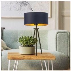 Designerska lampka nocna do na stolik do pokoju ALTA GOLD