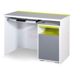 Klupś biurko z kontenerkiem irene lime