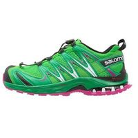 Salomon XA PRO 3D Obuwie do biegania Szlak peppermint/athletic green/deep dalhia, kolor zielony