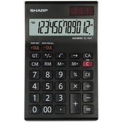 Sharp Kalkulator desktop box el124twh czarny