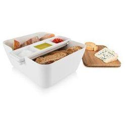 Pojemnik na pieczywo w zestawie do przekąsek bread & dip wyprodukowany przez Tomorrows kitchen