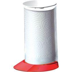 - glamour - stojak na ręczniki papierowe - czerwony - czerwony marki Casa bugatti
