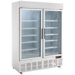 Polar refrigeration Szafa mroźnicza z podświetleniem 2-drzwiowa przeszklona | 920l | -18 do -22°c | 1370x745x(h)1990 mm