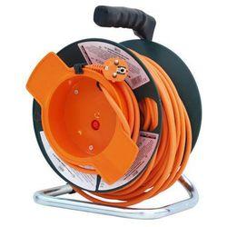 Hecht czechy Hecht 150153 przedłużacz kabel sieciowy na bębnie nawijany 3x1.5mm2 230v 50 metrów ewimax
