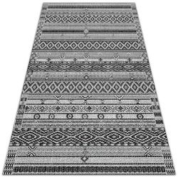 Tarasowy dywan zewnętrzny tarasowy dywan zewnętrzny geometryczne romby marki Dywanomat.pl