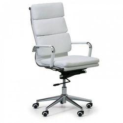 B2b partner Krzesło biurowe kit, skóra, biały