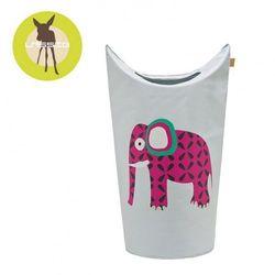 kosz na zabawki lub pranie wildlife słoń marki Lassig