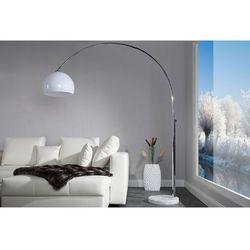 INTERIOR SPACE:: Lampa podłogowa Murano 175-205cm (biała) - biała ||biała 175-205cm