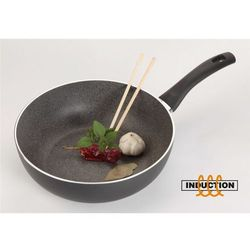 Indukcyjny wok granitowy Ballarini BOLOGNA GRANITIUM (28cm)
