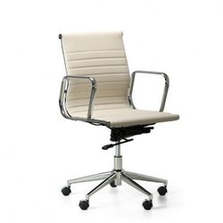 Fotel biurowy style s, kremowy marki B2b partner
