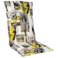 Poduszka na krzesło ogrodowe caprii hoch 3609-5 + zamów z dostawą w poniedziałek! + darmowy transport! marki Yego