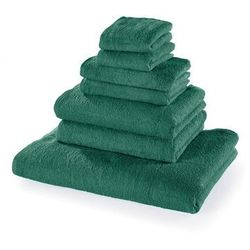 Bonprix Komplet ręczników (7 części) zielony