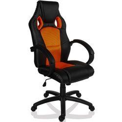 Krzesło obrotowe biurowy GS Series pomarańczowy