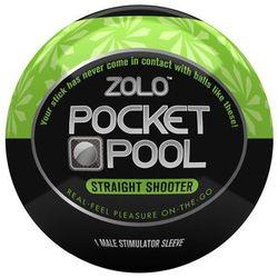 Kieszonkowy rozciągliwy masturbator Zolo Pocket Straight Shooter ze sklepu Kobiece Tajemnice